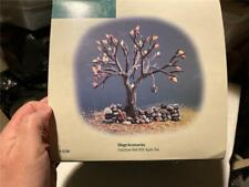 Department 56 52758 Village Accessories Fieldstone Wall W/ Apple Tree