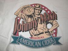 JOHNNY MASH Bershire Cider Company - Richmond, MA (XL) Shirt Orig AMERICAN CIDER