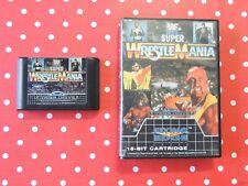 WWF Super Wrestlemania Sega Mega Drive in OVP