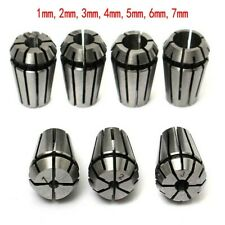 New Listing7pcser11 Spring Collet Chuck Set For Cnc Milling Lathe Tool Engravingmachine