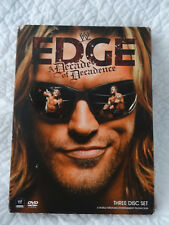 WWE: Edge - A Decade of Decadence (DVD)  2008 Excellent Discs