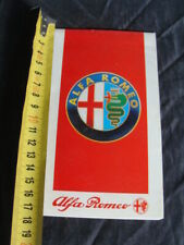 Brochure Alfa Romeo 75 turbo America 164 33 Alfa spider