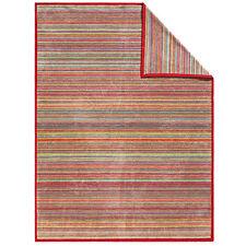 Wolldecke Wohndecke Kuscheldecke Messina Ibena Streifen 3599 150x200 cm bunt NEU