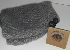 NEW ANDES GIFTS Gray Alpaca Blend Boot Toppers Cuffs Leg Warmers *Free Gift*