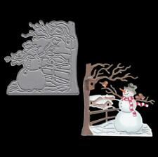 Snowman Christmas Dies Metal Cutting Dies scrapbooking Arrivals Die Cuts Craft