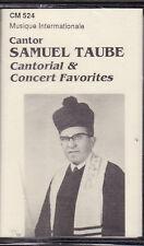 Samuel Taube - Cantorial & Concert Favorites (Cassette, CM-524) NEW Cantor