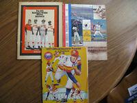 1975 Orioles, 1976 Padres & 1977 Astros Official Scorebooks & Scorecard