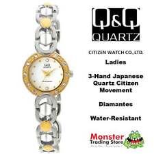AUSSIE SELLER LADIES BRACELET WATCH CITIZEN MADE 2/TONE GL35-802 P$99 WARRANTY