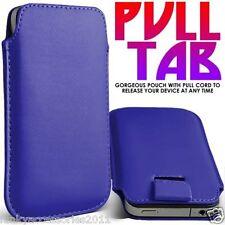 Cover e custodie pelle sintetici blu marca Apple per cellulari e palmari