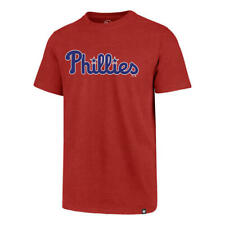 Philadelphia Phillies Men's '47 Brand Wordmark Club T-Shirt - Red