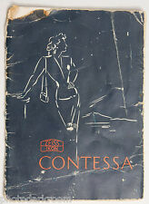 Zeiss Contessa Camera Manual Instruction Book - English - Poor USED B91B