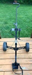 Wilson Compact Push/Pull Two Wheel Folding Golf Bag Cart