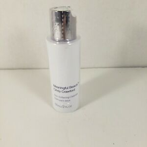 Cindy Crawford Meaningful Beauty Skin Softening Cleanser 2 fl oz NEW *Sealed*