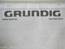 Grundig Yacht Boy (solo manuale)............. radio_trader_ireland.