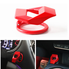 Red Aluminum Alloy Ignition Start Stop Button Cover Ring For Most Car Universal