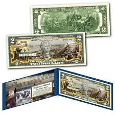 WWII D-DAY Normandy Invasion 75th ANNIVERSARY Operation Overlord U.S. $2 Bill