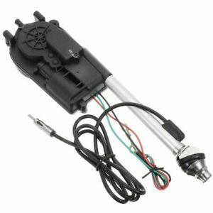 12V Antena electrica automatica de coche Antena Mástil  AM FM Radio  Universal/