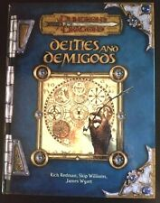 Dungeons and Dragons D&D 3E Deities and Demigods