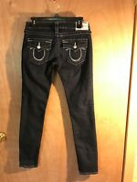 True Religion Button Flap Pocket Skinny Jeans Women's Size 27