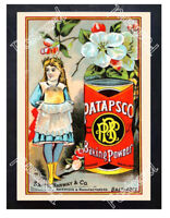 Historic Patapsco Baking Powder 1878 Advertising Postcard