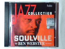 BEN WEBSTER QUINTET Soulville cd