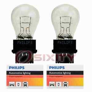 2 pc Philips Daytime Running Light Bulbs for GMC Acadia Yukon Yukon XL 1500 kl