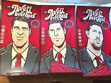 🔥 The Avett Brothers 2016 Red Rocks CO Cut ALL 3 Poster Print Set S/N #/50