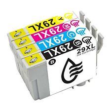 4X 29XL Negro Cian Magenta Amarillo Cartuchos de tinta Para Epson XP-245 XP-445