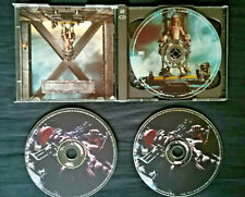 Rare mispress IRON MAIDEN X factor OG 3 CD w/ interview+ limited edition poster