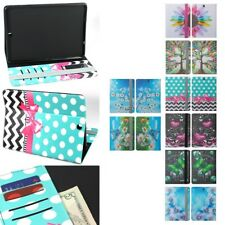 "For Samsung Galaxy Tab S2 9.7"" Hybrid Leather Wallet ID Pouch Case Flip Cover"