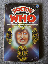 'Doctor Who and the Masque of Mandragora' by Philip Hinchcliffe - Target P/B