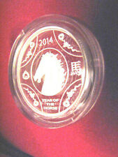 2014 Australia Year of the Horse 11.66 grams Fine Silver Proof $1 Coin in Box