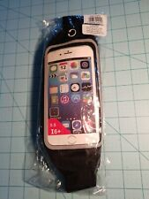 Unbranded:Adjustable Black Waist Pack With Clear Cell Phone Pouch, Brand New
