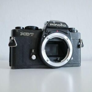 [EXCELLENT] Minolta xd-7 RARE BLACK! Body   FILM TESTED   xd-11 x-700