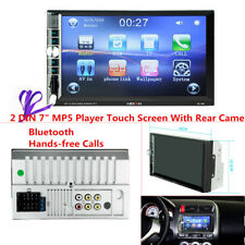 """7"""" 2 DIN Stereo Car MP5 Player Bluetooth MP3/MP4/Audio/Video/USB Rearview+Camera"""