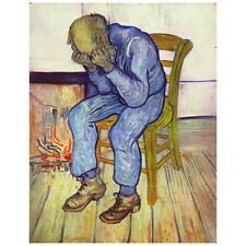Van Gogh, Sorrowing Old Man, At Eternity's Gate, Deco FRIDGE MAGNET, 1890