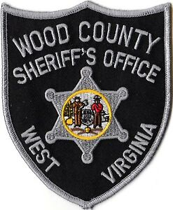 Wood County Sheriffs Office Police Patch West Virginia WV