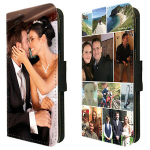 Personalised Photo Wallet Flip Phone Case cover Huawei P20 P30 P40 Pro and Lite