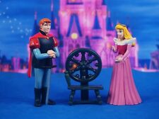 Princess Aurora Prince Phillip Sleeping Beauty Fountain Cake Topper Decoration Q
