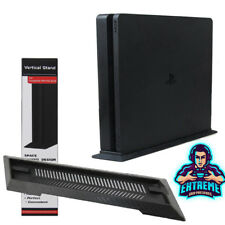 Vented Vertical Stand Dock Holder for Playstation 4 PS4 Slim Console