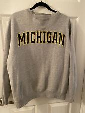 Vintage Champs Michigan Crewneck Sweatshirt Men's Large
