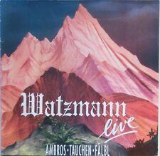 Ambros   Tauchen   Fälbl   WATZMANN live   DoLP   9030500   Vinyl NM
