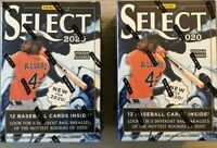 Lot of 2x 2020 Panini Select🔥Baseball Blasters 11 Diff. Parallels Hit That Auto