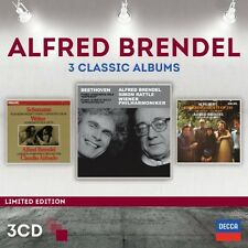 Alfred Brendel, Claudio Arrau - Three Classic Albums [New CD]