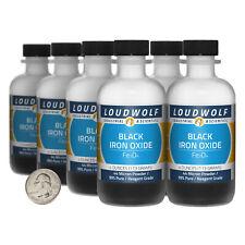 Iron Oxide Black 2 Lbs 8 Bottles 99 Pure Reagent Grade 44 Micron Powder