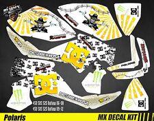 Kit Déco Quad / Atv Decal Kit Polaris Outlaw - DC White