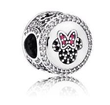 New Authentic Pandora Charm Bead  Disney Mickey & Minnie 791958NCK