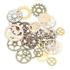 50g Mixed Punk Watch Parts Steampunk Gears Pendant Jewelry Craft Making Findings