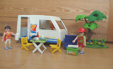 Playmobil 100% Complete Set 3236 Family Vacation Caravan