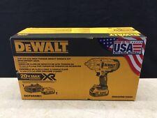 """Dewalt 20V MAX XR Li-Ion 1/2"""" Impact Wrench w/ Detent Pin Anvil  DCF899M1"""